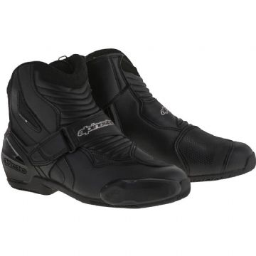 Alpinestars SMX-1 R Motorcycle Shoe Boots Black